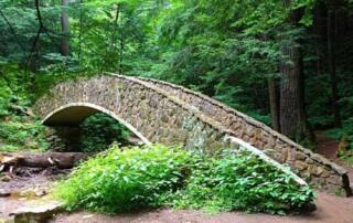 Hocking Hills State Park - The Bridge At Old Mans Cave