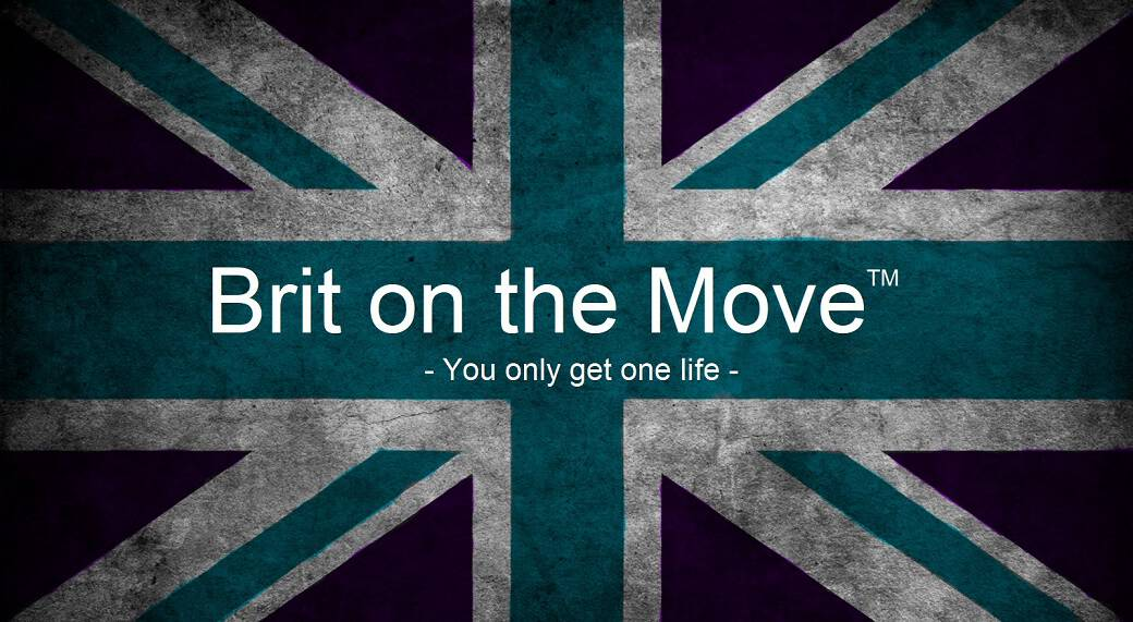 Brit on the Move ™ Logo
