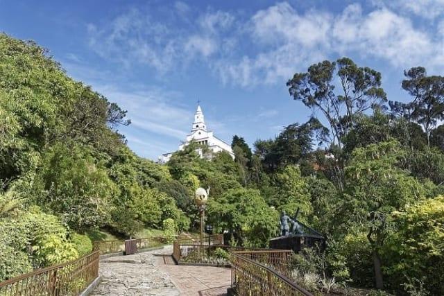 Bogota Colombia Monserrate