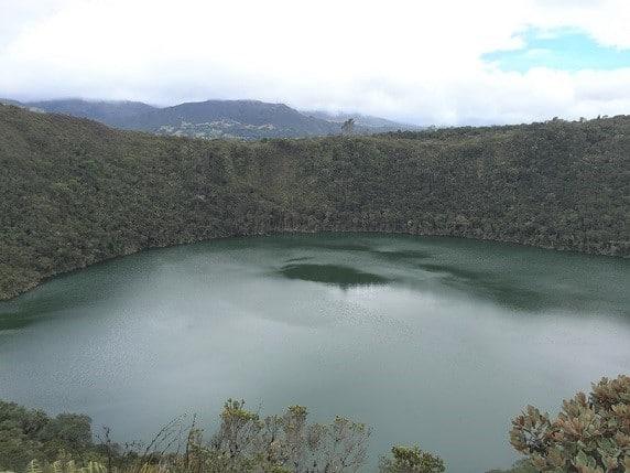 Bogota Colombia Lake Guatavita