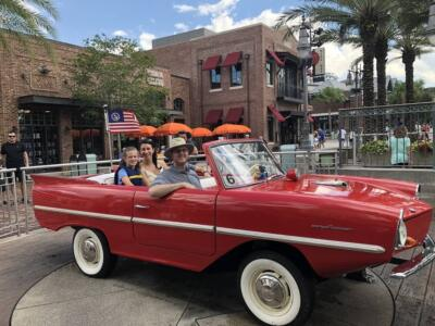 Amphicar Disney Springs