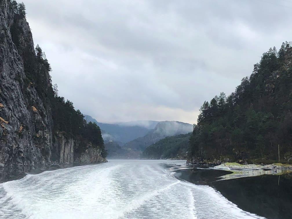Bergen Norway Fjords
