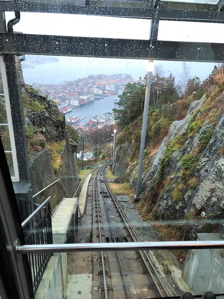 Funicular Train View