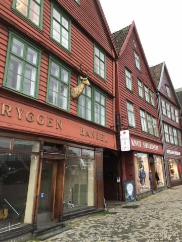 Bryggen Bergen Norway