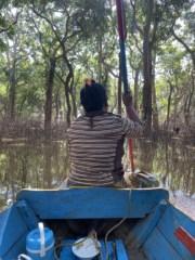 Canoe Ride Floating Village Siem Reap