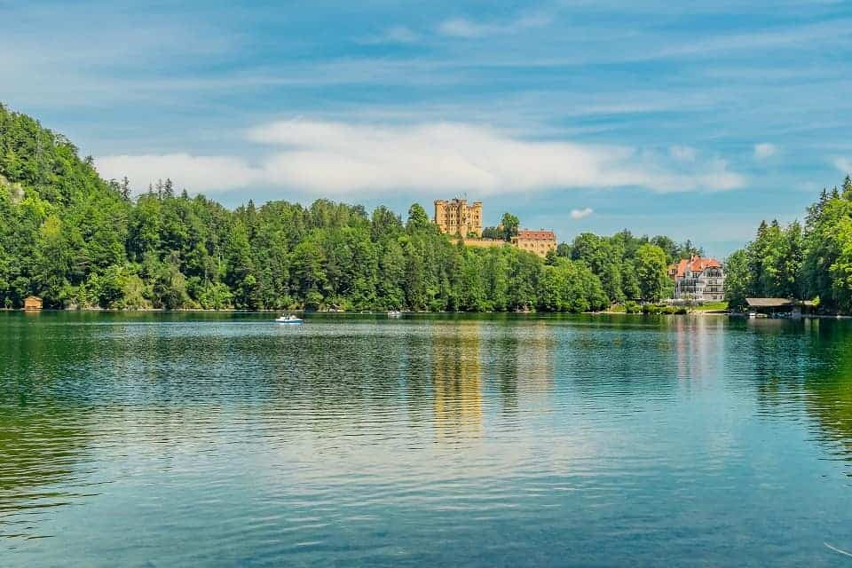 Hohenschwangau Castle Lake View