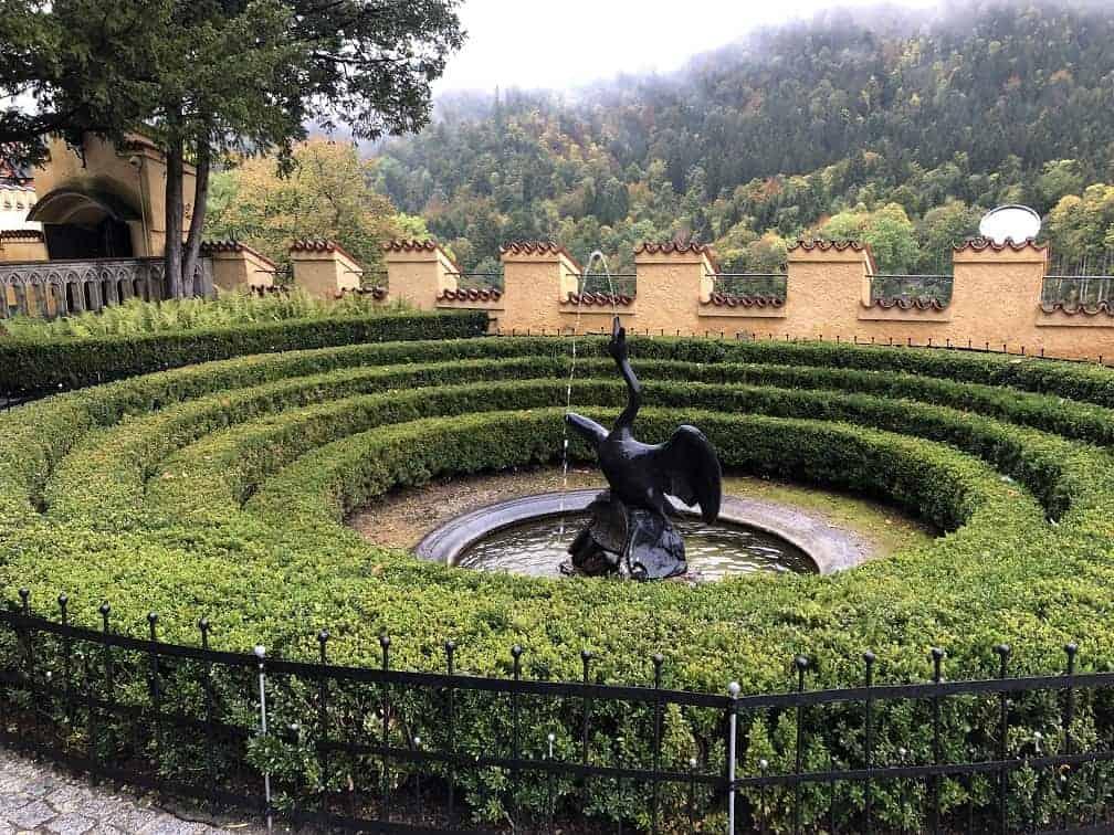 Hohenschwangau Castle Garden