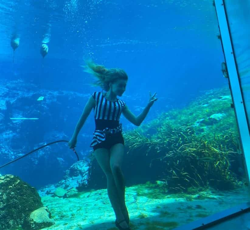 Mermaid Show in Florida