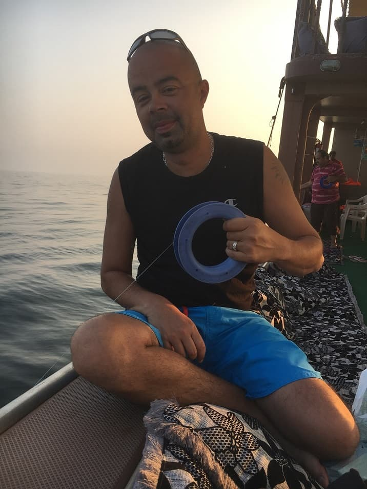 Mussandam Cruise Line Fishing