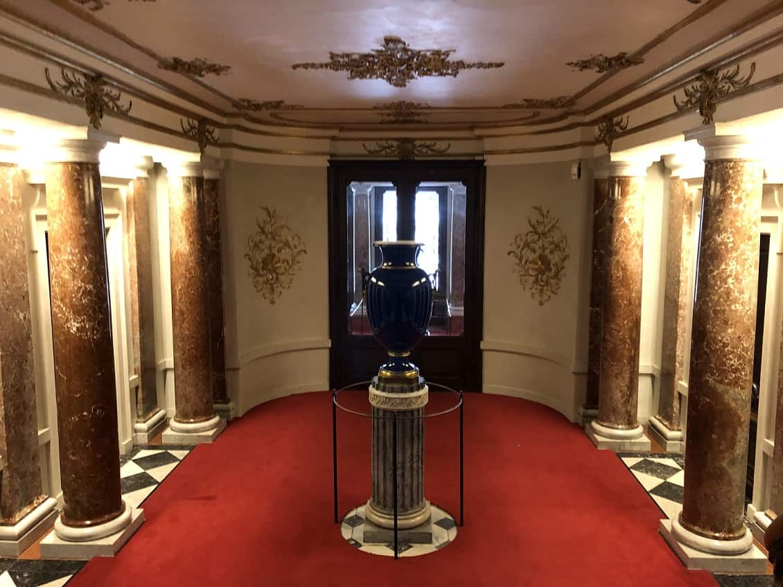 Linderhof Palace Hallway