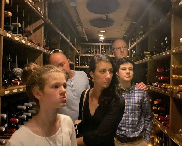 The Angus Bar Wine Cellar