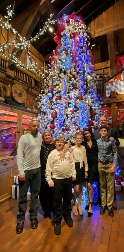 The Angus Barn Christmas Tree