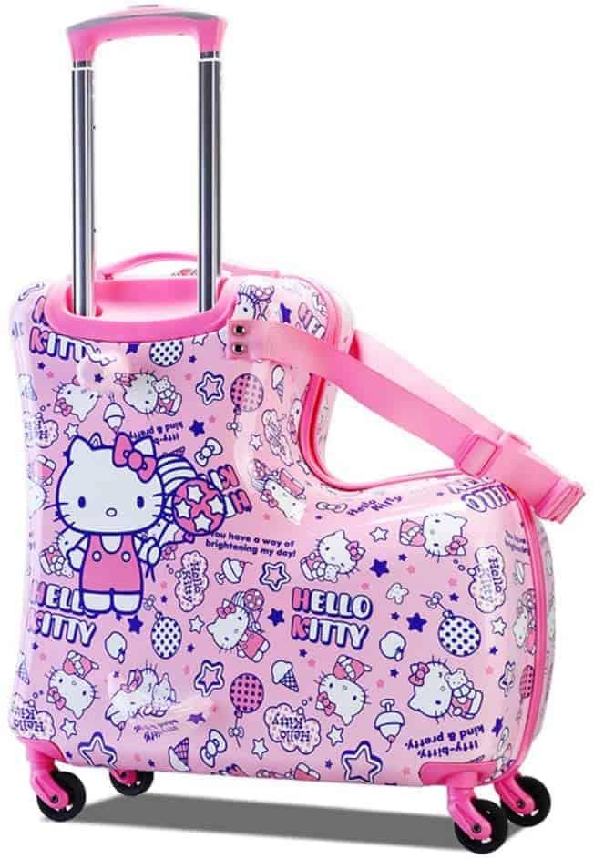 Kids Rideable Luggage Suitcase