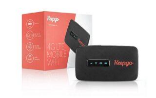 Keepgo Lifetime 4G LTE Mobile WiFi Hotspot
