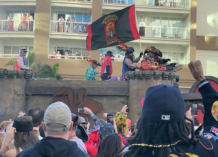 Gasparilla Victory Parade