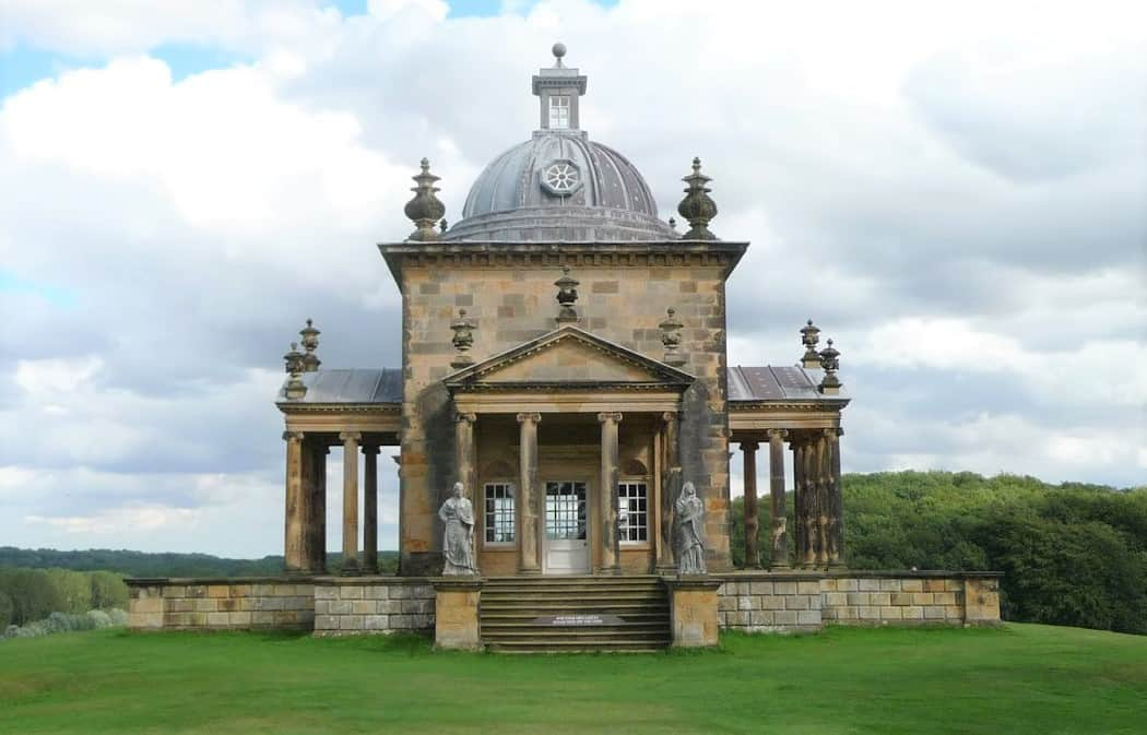 Castle Howard Four Winds Temple