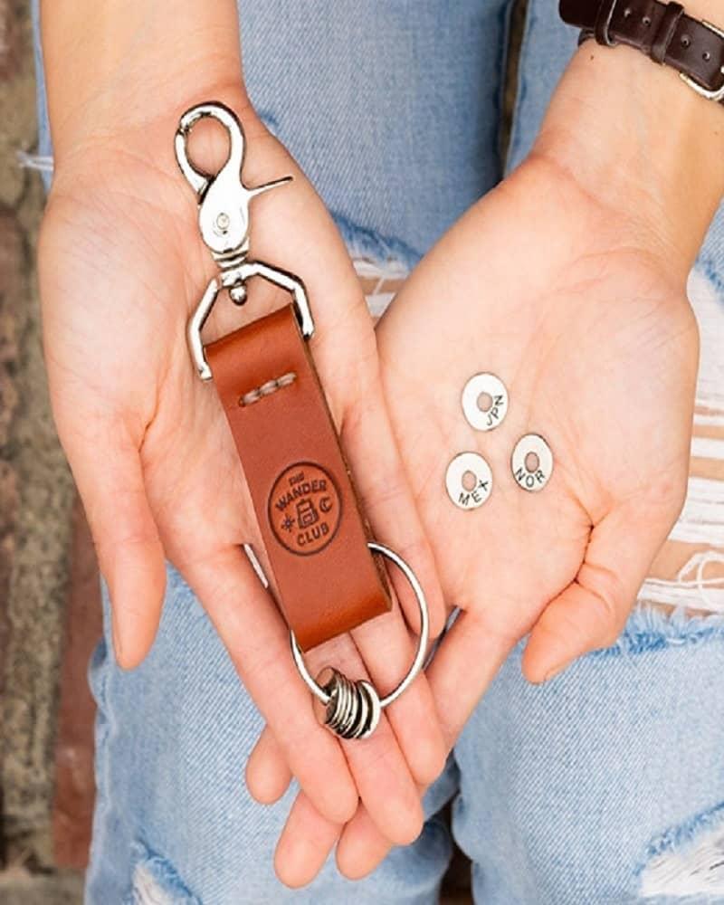 Charm Key Ring