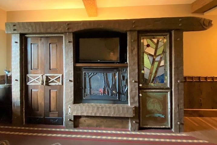 Big Cypress Lodge Fireplace
