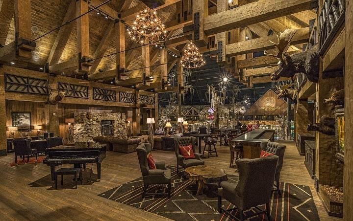 Big Cyprus Lodge Third Floor Bar