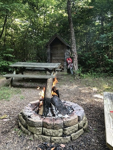 Hocking Hills Fire Pit