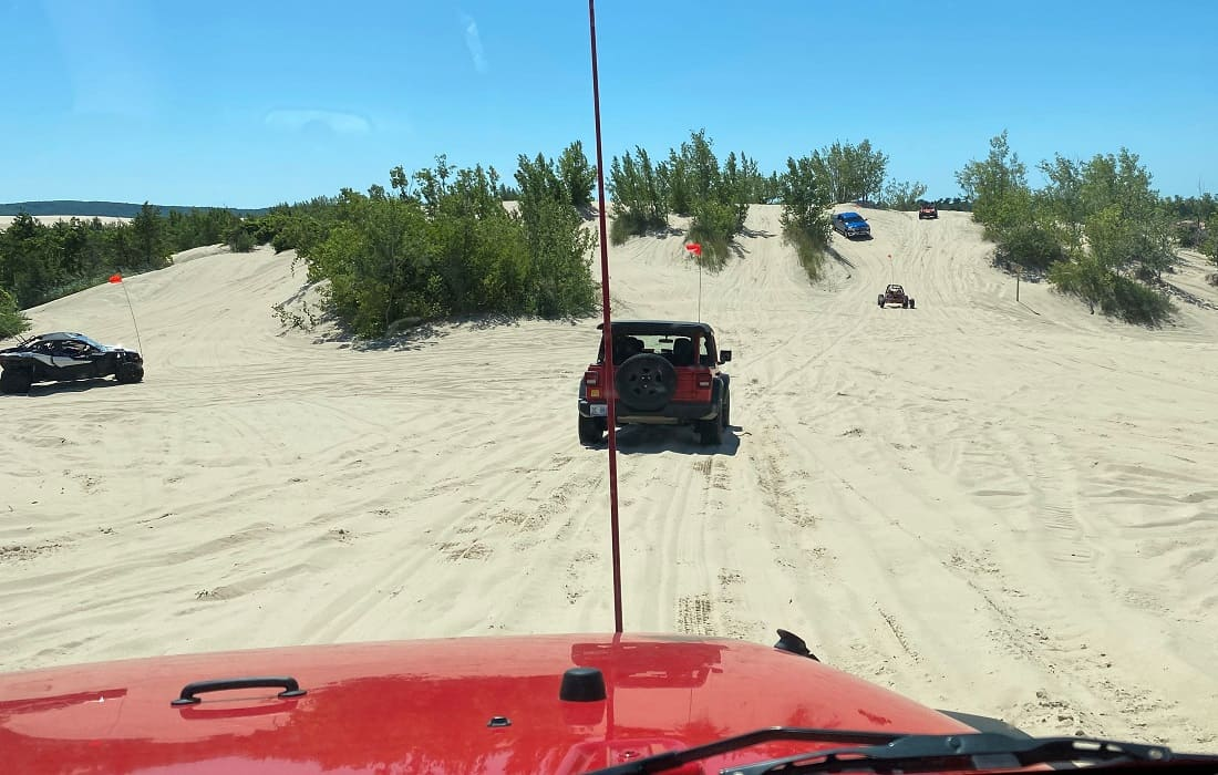 Dune Riding Michigan