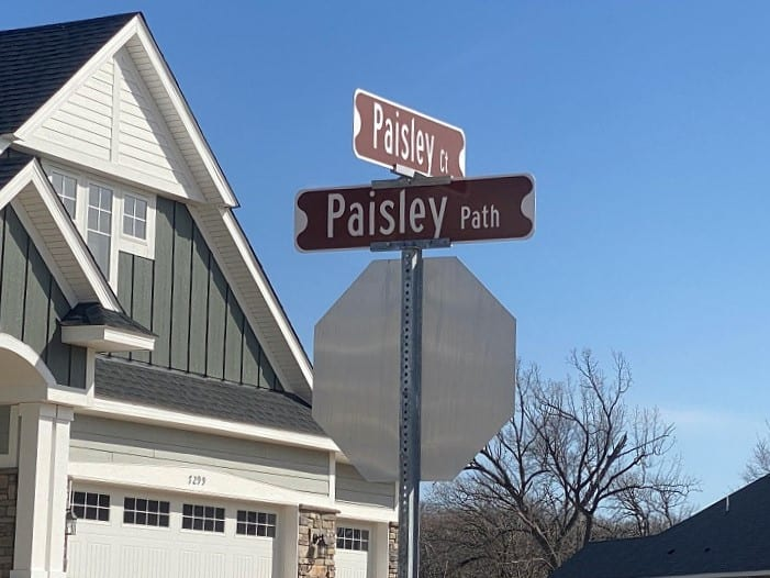 The Park Street Signs