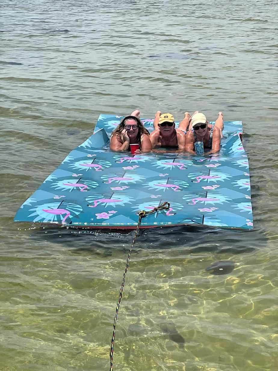 floating water mats