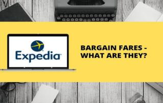 What is Expedia bargain fare