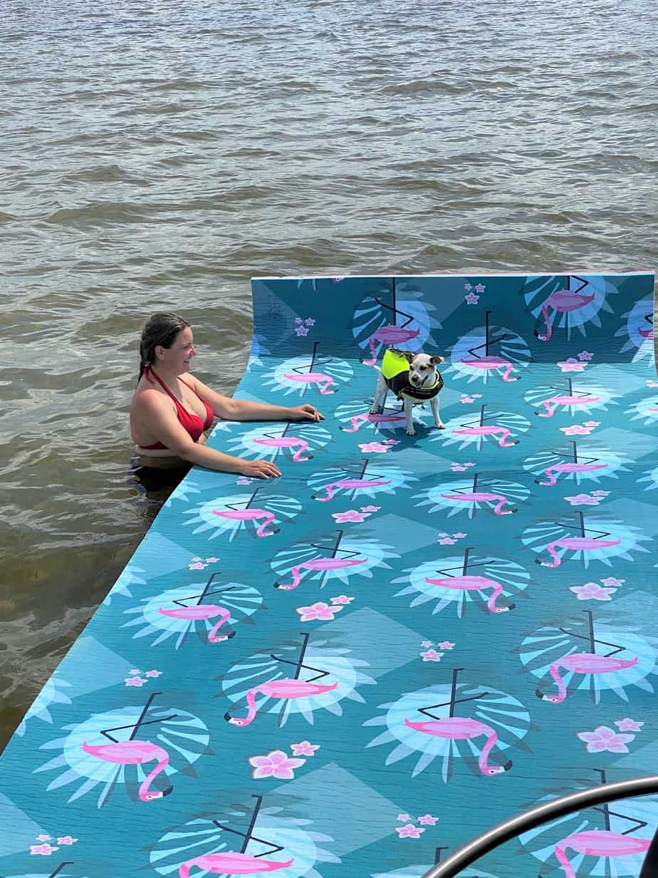 Floating Mat Dog
