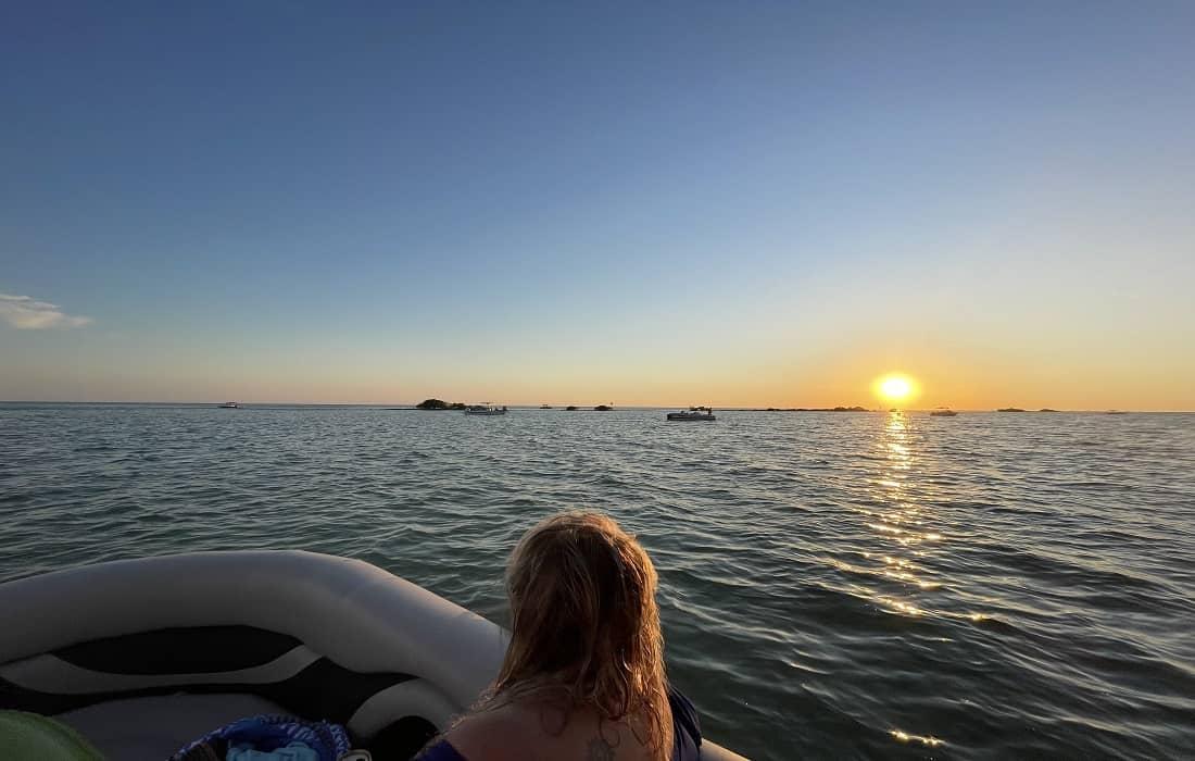 Hernando Beach Flats Sun Set