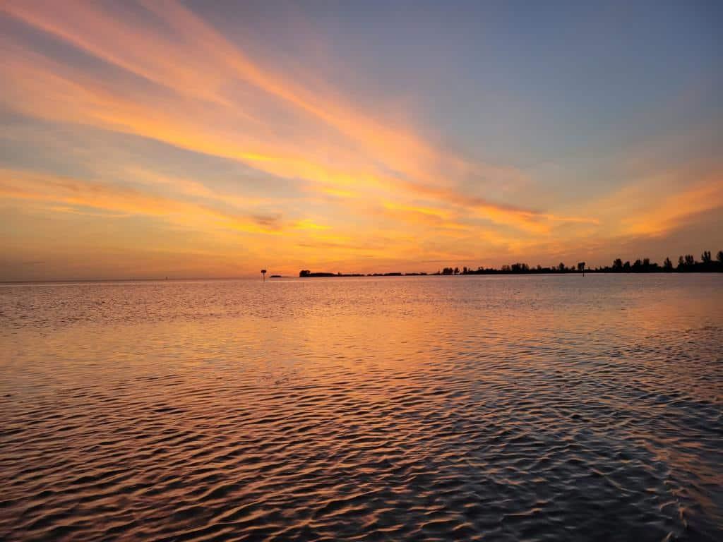 Hernando Beach Sunset