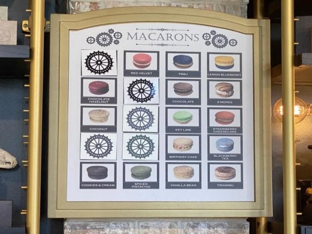 toothsome chocolate emporium macaron flavours