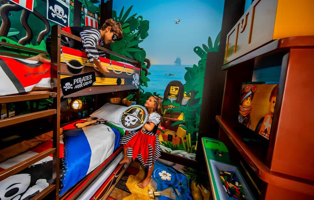 Legoland Pirate Island Room